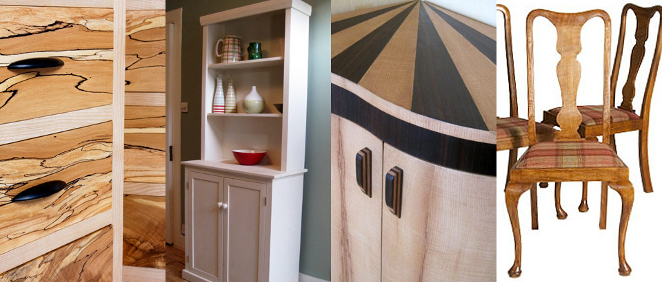 A selection of work by Edinburgh Fine Furniture